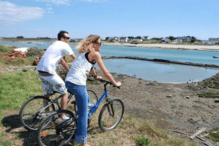 promenade à vélo vacances golfe du morbihan
