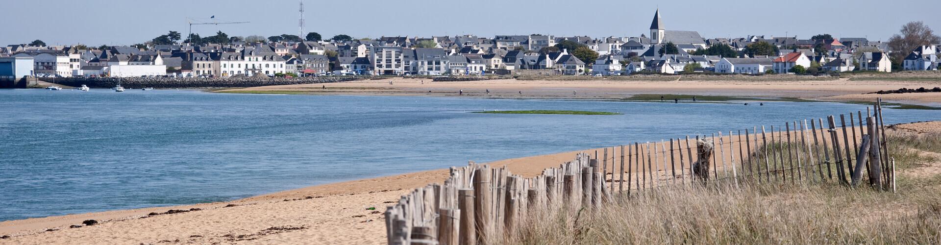 ria d'Etel, plage Morbihan
