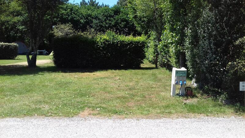 emplacement de camping à Carnac, Morbihan