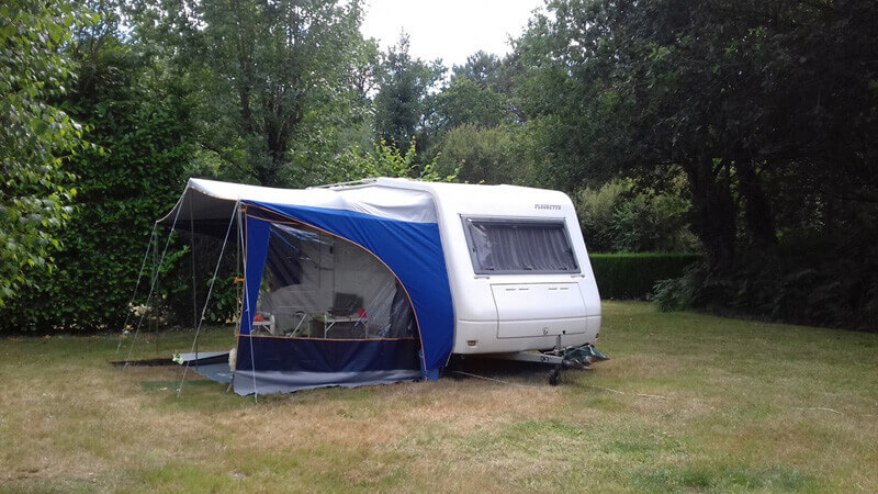 Location emplacement de camping caravane, Carnac