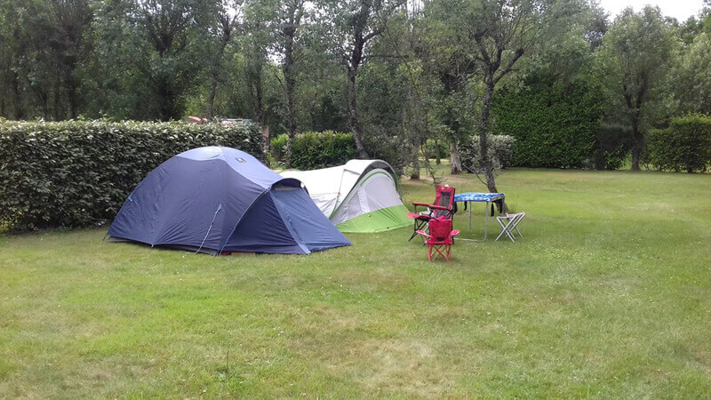emplacement de camping tente, Carnac