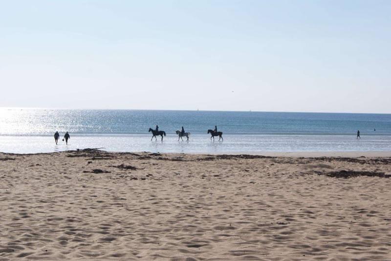plage de kerhilio à Erdeven