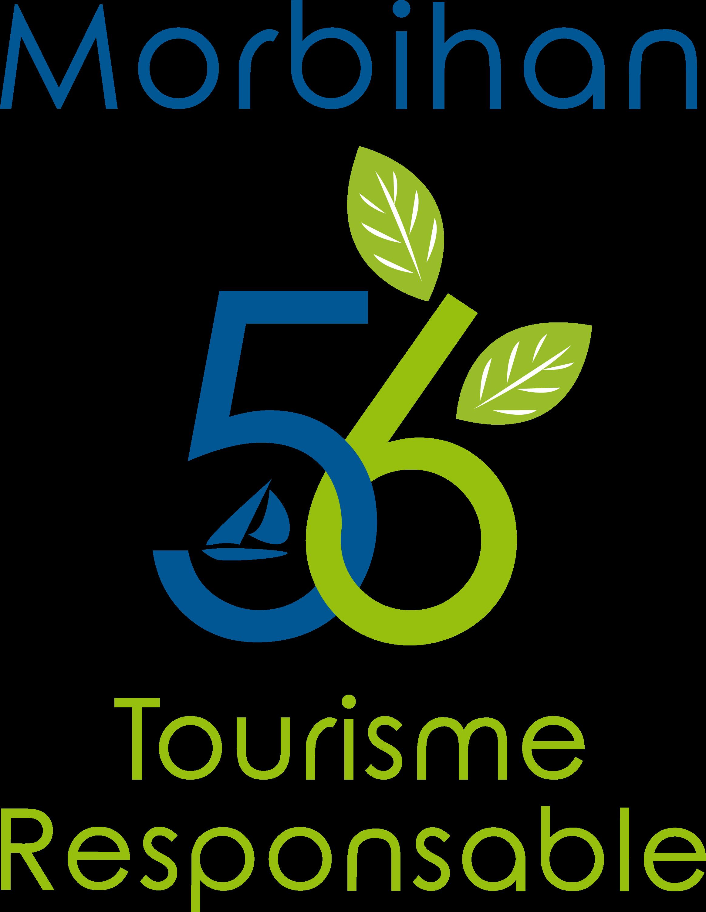 logo morbihan tourisme responsable